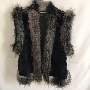Ella Moss faux fur vest